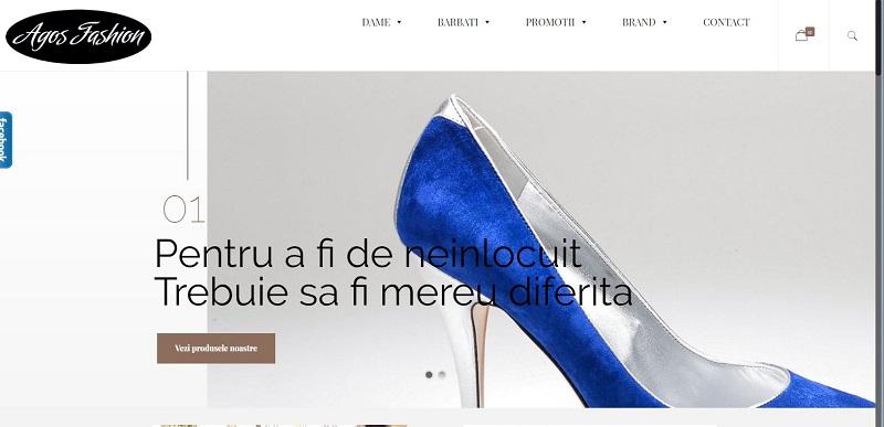 Creare Magazin online Agos Fashion 1