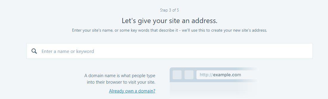 Inregistrare domeniu pe wordpress