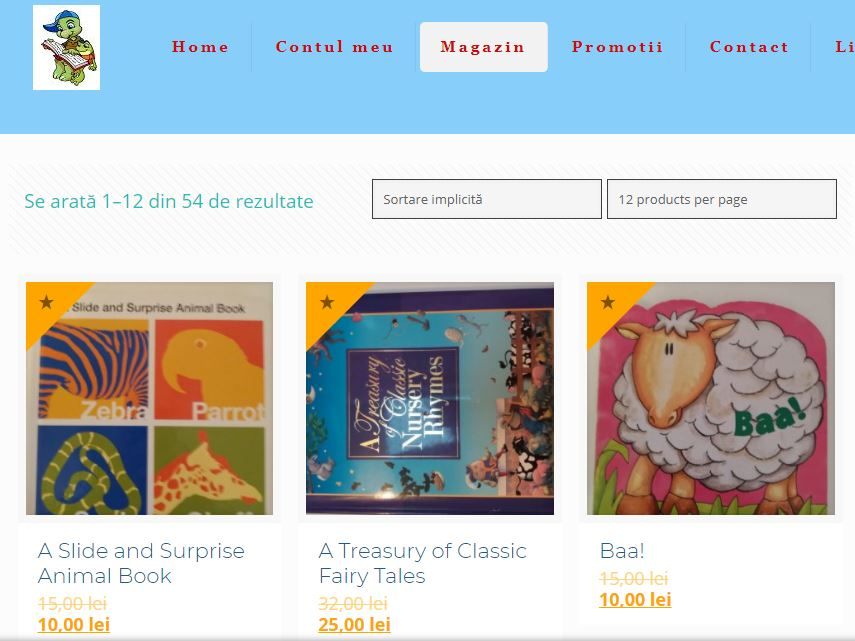 BookFun.ro, Creare site online pentru carti 1