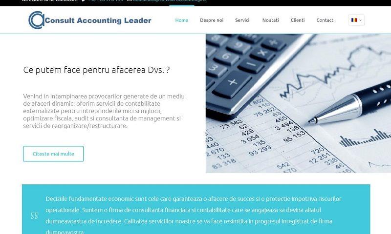 Creare site Expert contabil 3