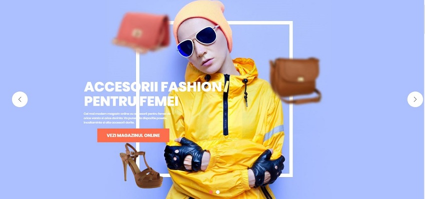 Creare magazin online de Fashion 11
