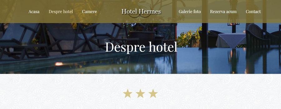 Creare web site pentru hotel 1