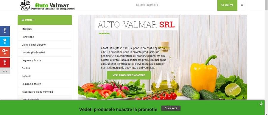 Creare site pentru alimentara 7