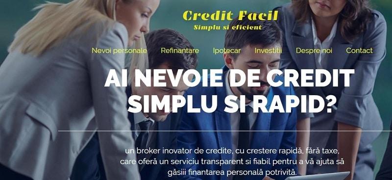 Creare site pentru firma de credit 15