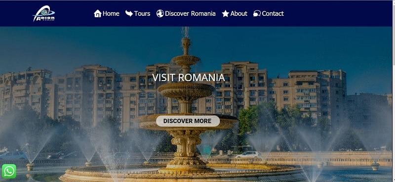 Creare site agentie de turism 4