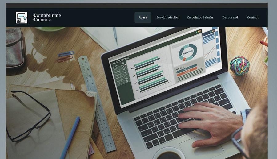 Creare site de contabilitate 2
