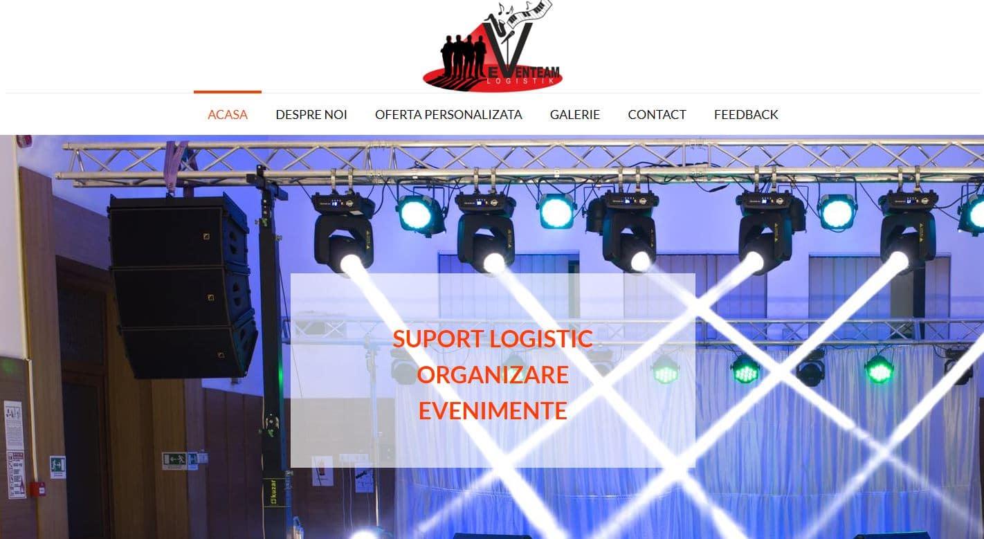 Creare site de evenimente 11