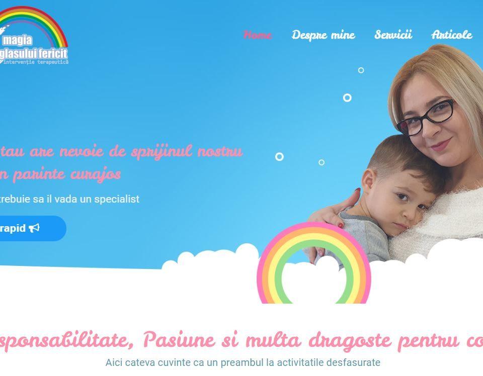 Magia Sufletului Fericit, Un website pentru special 5