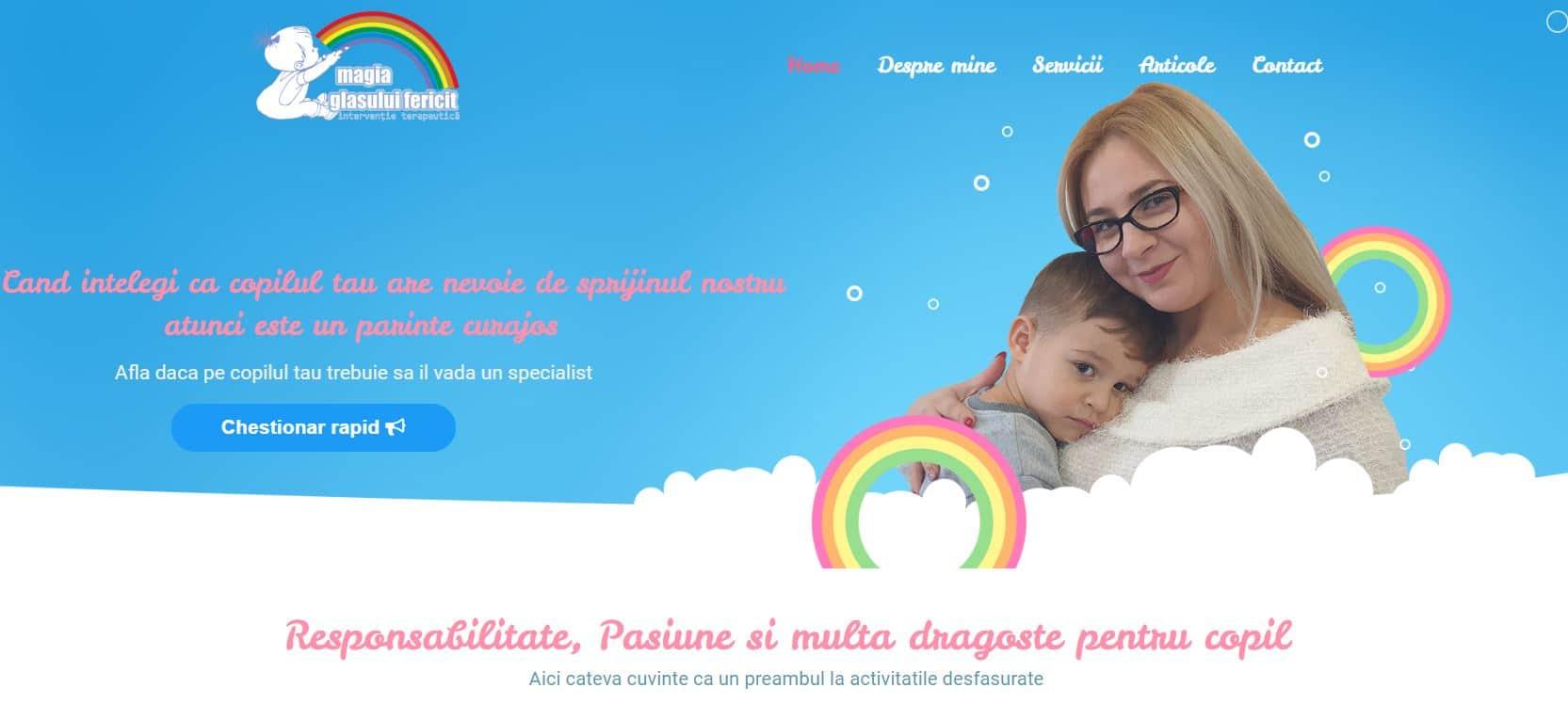 Magia Sufletului Fericit, Un website pentru special 9