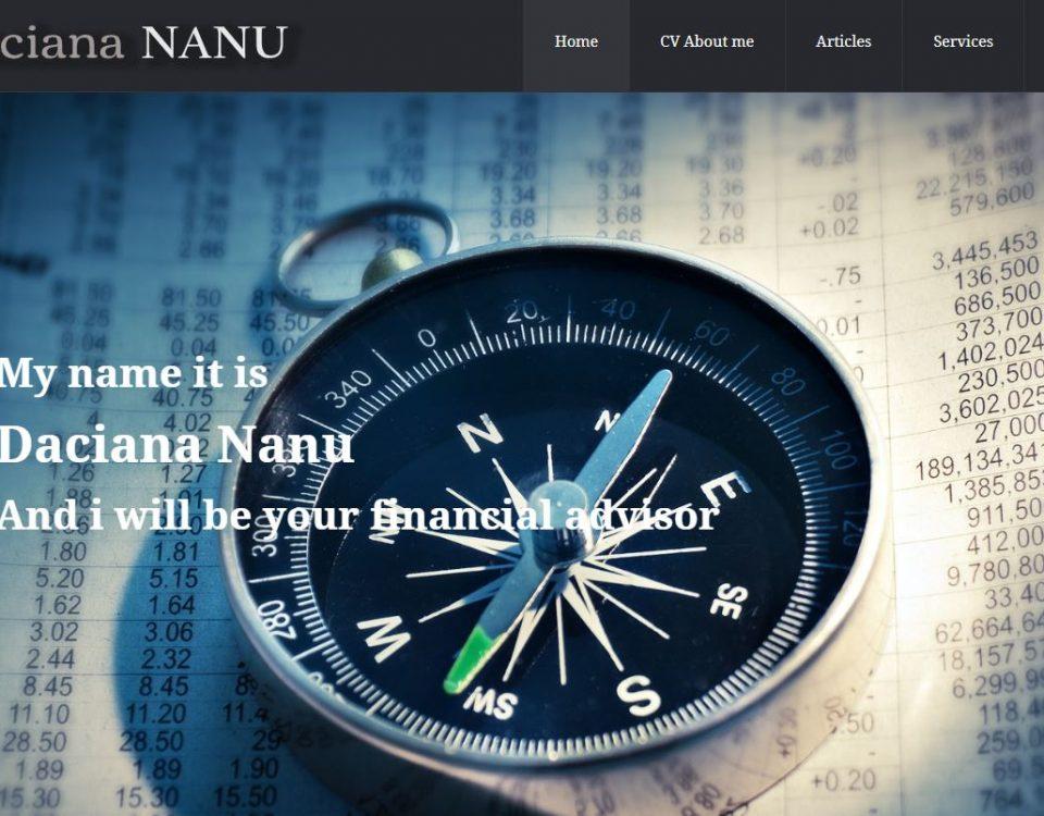 Creare site pentru firma de consiliere fiscala 6