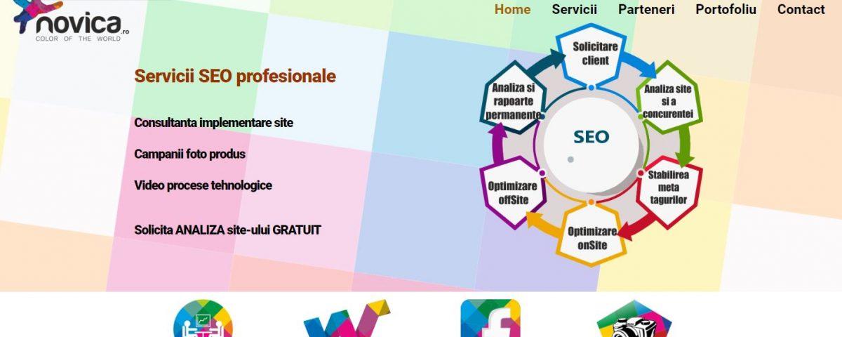 Creare site web agentie SEO 3