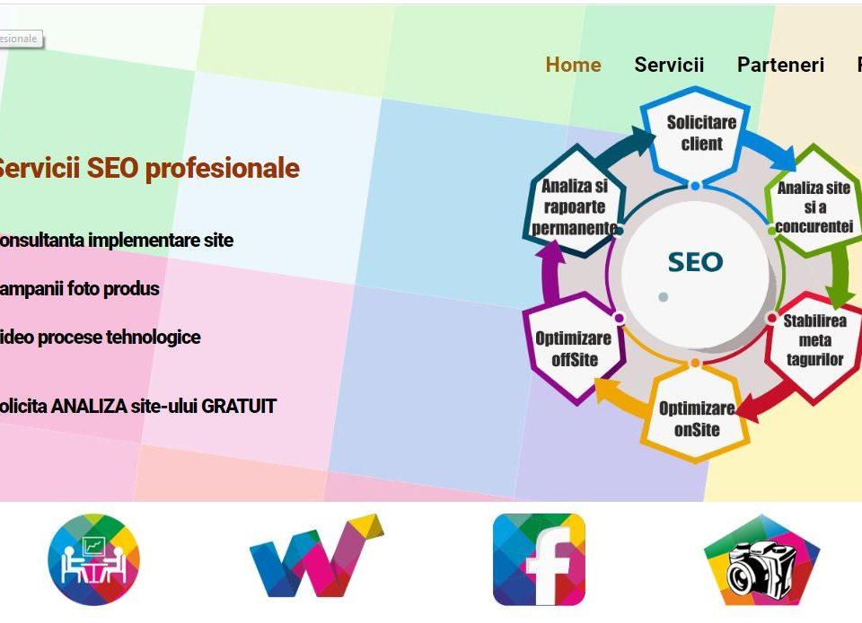 Creare site web agentie SEO 1