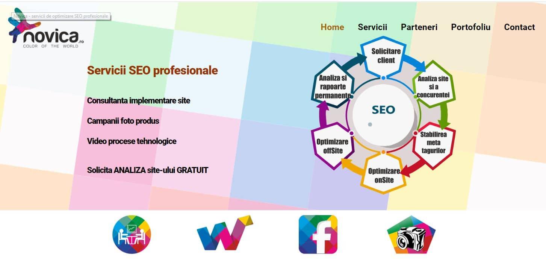 Creare site web agentie SEO 9