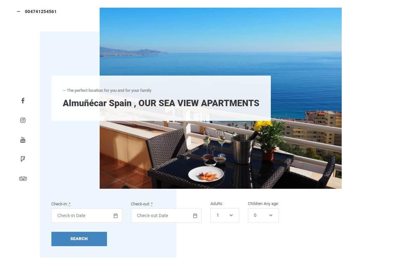 Creare website apartament tip Penthouses 8