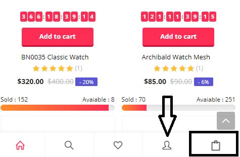 butoane pentru un magazin online