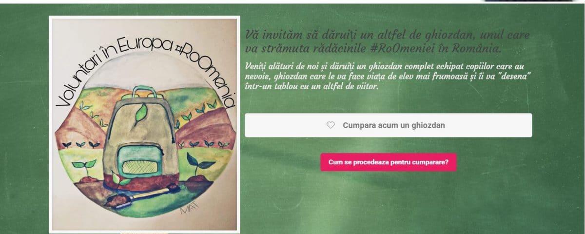 """Creare site web pentru campania """"Copacul din Ghiozdan"""" 3"""