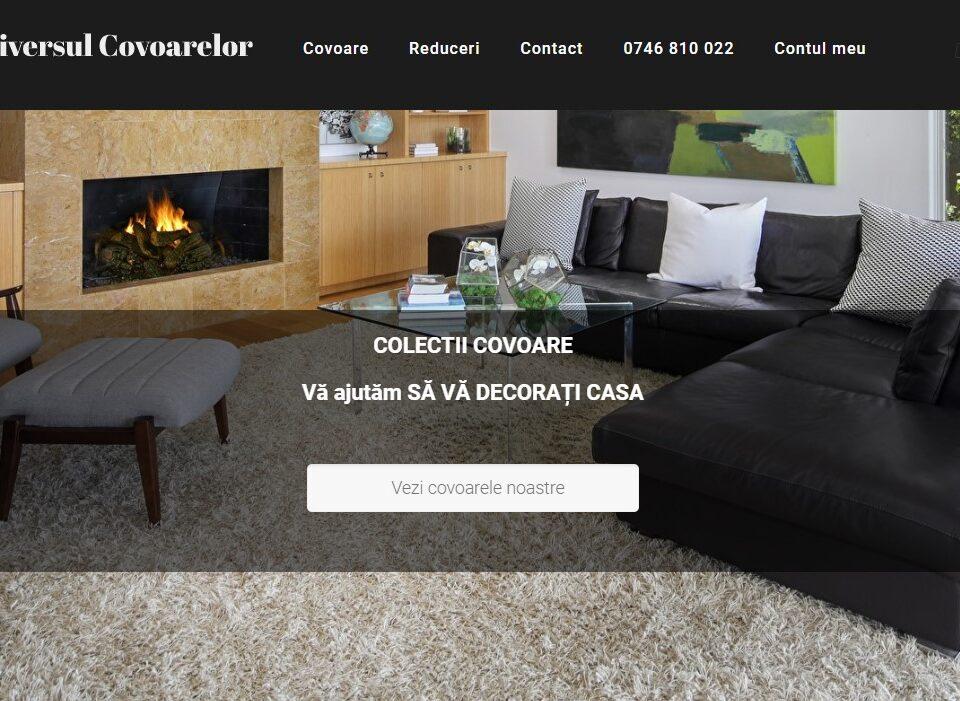 creare magazin online de covoare