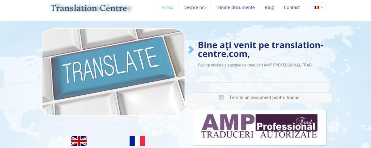 Creare site web pentru firma de traduceri legalizate 3