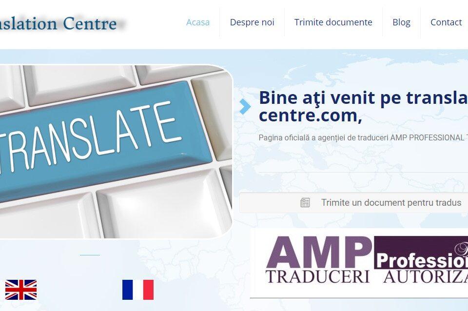 Creare site web pentru firma de traduceri legalizate 4