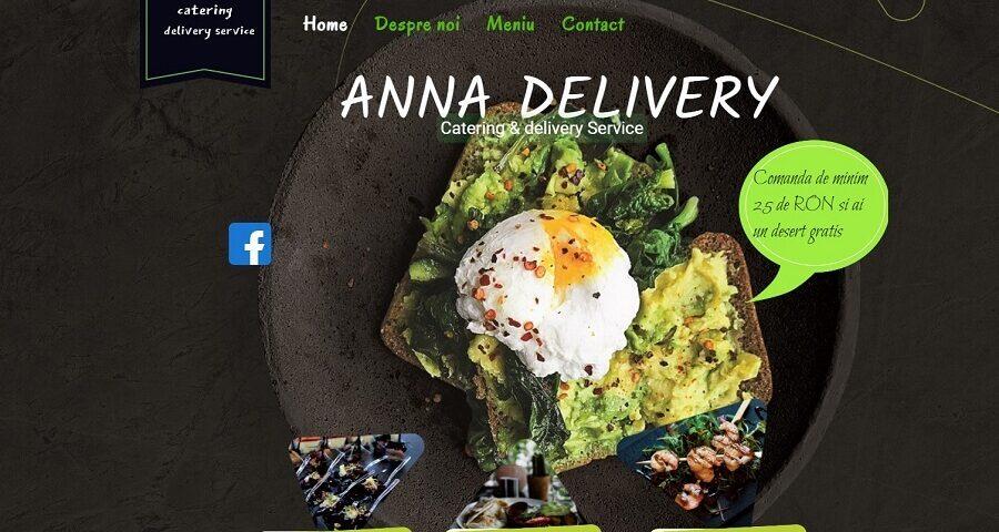 Creare website de prezentare pentru firma de catering 2