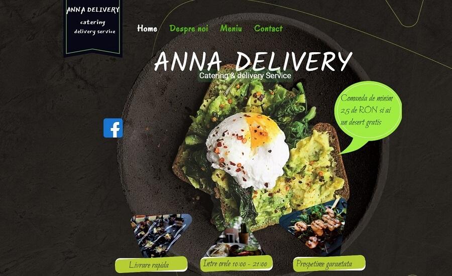 Creare website de prezentare pentru firma de catering 5