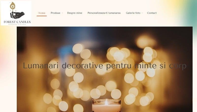 Creare magazin online pentru lumanari HandMade 3