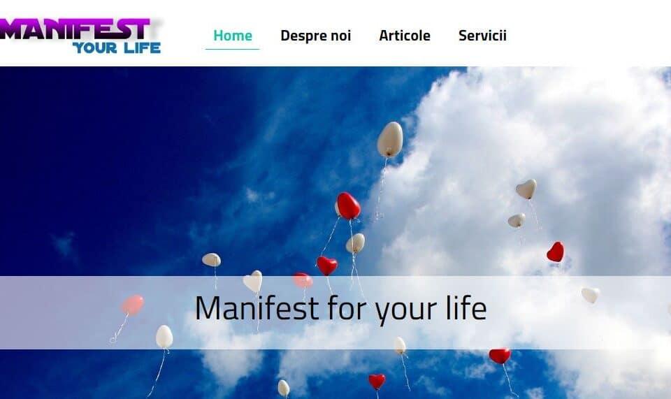 Manifest for your life, Articole pentru dezvoltare personala 1