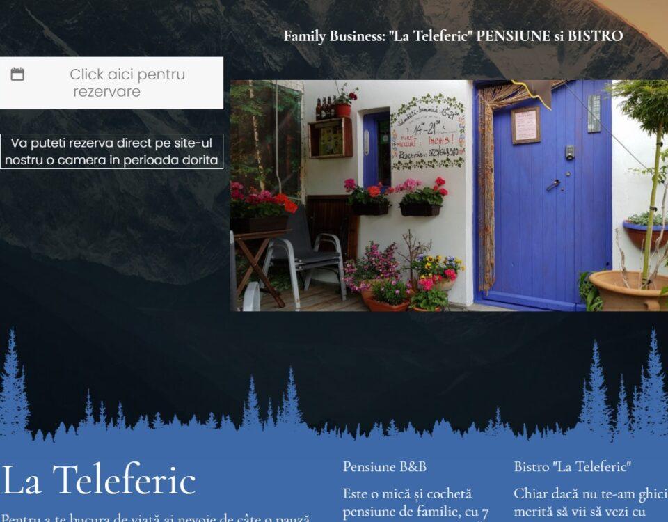"Creare site pensiune ""La Teleferic"" 5"