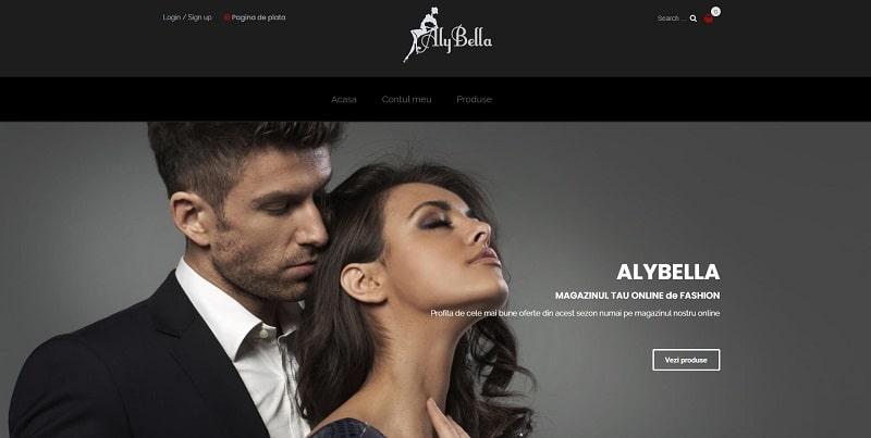 Creare magazin online de Fashion